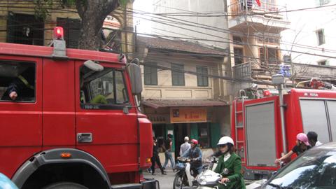 Hà Nội: Hỏa hoạn tại quán cà phê Lâm
