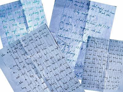 Phát hiện thư bà Thúy Liễu gửi người tình