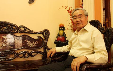 Nguyên Bộ trưởng Bộ giáo dục Phạm Minh Hạc.