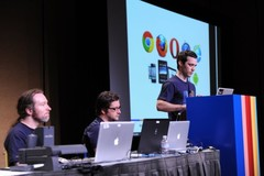 Laptop Apple 'tỏa sáng' ở sự kiện Google I/O