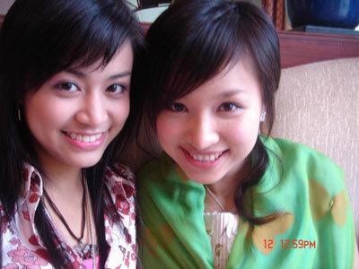 Hoàng Thùy Linh được biết đến như một hot girl đời đầu ở HN cùng My Vân, Thanh Vân Hugo