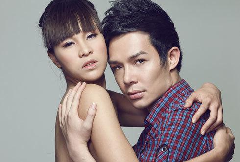 Phương Mai bán nude bên cạnh Nathan Lee ảnh 1
