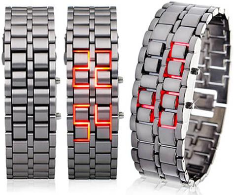 Đồng hồ sắt Samurai