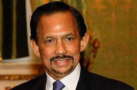 Hassanal Bolkiah,đức vuacủa Brunei.