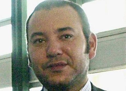 Vua Mohammed VI của Morocco.