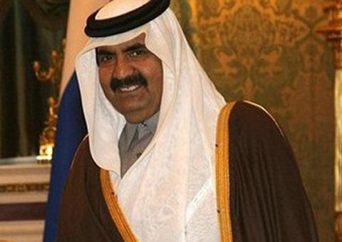 Hamad bin Khalifa Al Thani, tiểu vương của Qatar.