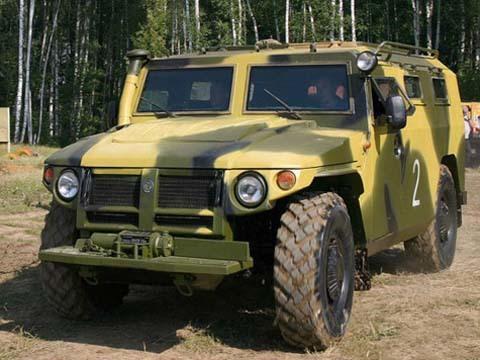 10 xe quân sự nổi tiếng ở Nga