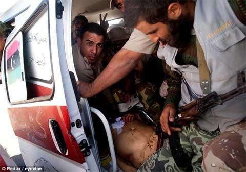 Ông Gaddafi bị giết như thế nào?