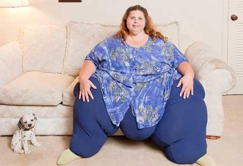 Cuộc sống vợ chồng của người đàn bà béo nhất thế