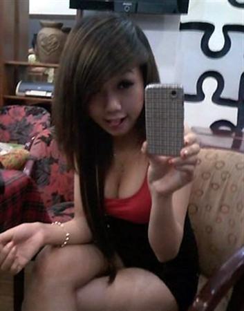 girl xinh khoe hang tren facebook