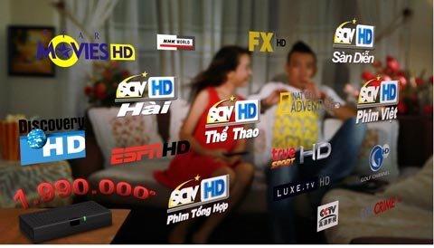 Đăng Ký Truyền Hình Cáp SCTV Quận Tân Phú Quận Tân Bình Quận Gò Vấp