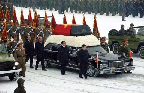 Những manh mối quan trọng từ tang lễ ông Kim ảnh 1