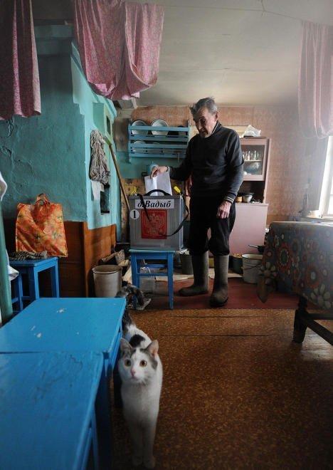 Nước Nga chờ đón Tổng thống mới ảnh 9