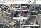 Mỹ công bố ảnh vệ tinh mộ tập thể ở Syria