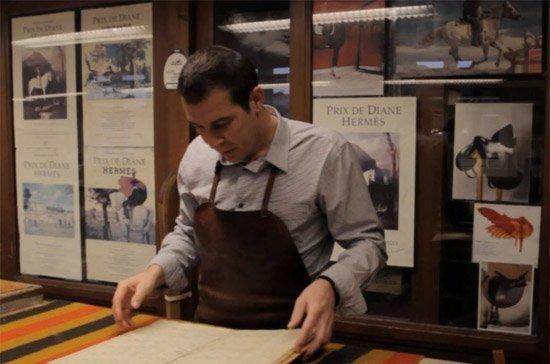 Hình ảnh Túi xách Hermès được sản xuất một cách cầu kỳ