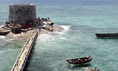 Đài Loan chiếm Đảo Ba Đình Rồi Ngang Nhiên Tập Trận