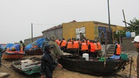 Tin tức Bão số 5 – 2012 đổ bộ vào Miền Bắc, Quảng Ninh – Hải Phòng