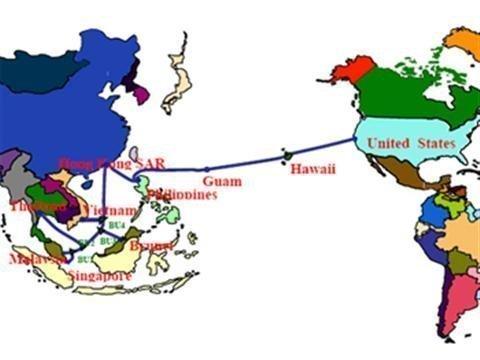 28/8: Khắc phục xong tuyến Internet quốc tế AAG