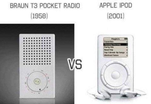 Apple bắt chước thiết kế cách đây 60 năm?