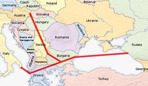 Quyền lực năng lượng Nga ở châu Âu