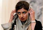 Nữ ngoại trưởng Pakistan dính nghi án tình cảm