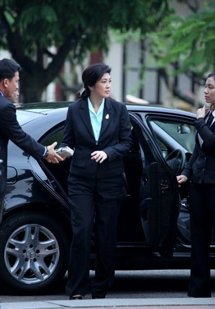 Nữ Thủ tướng Thái Lan mua sắm ở Hà Nội (8)