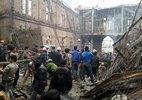 Sập công trình nhà thờ, 3 người chết