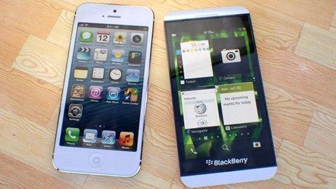 Công nghệ - Điện thoại của BlackBerry đua tốc độ với iPhone 5