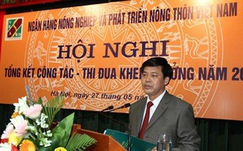 Khởi tố, bắt nguyên Tổng giám đốc Agribank Phạm Thanh Tân