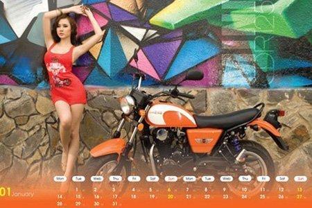 Ô tô-Xe máy - Môtô và hotgirl Việt cùng lên lịch