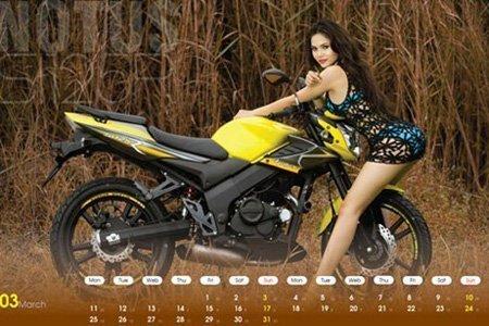 Ô tô-Xe máy - Môtô và hotgirl Việt cùng lên lịch (Hình 3).