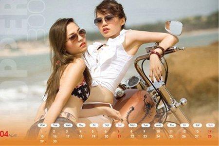 Ô tô-Xe máy - Môtô và hotgirl Việt cùng lên lịch (Hình 4).