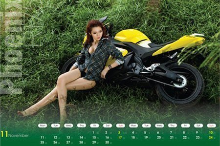 Ô tô-Xe máy - Môtô và hotgirl Việt cùng lên lịch (Hình 11).