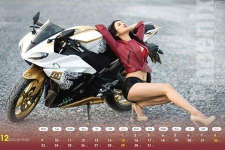 Ô tô-Xe máy - Môtô và hotgirl Việt cùng lên lịch (Hình 12).
