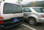 Bất chấp lệnh cấm, xe công đổ về Yên Tử