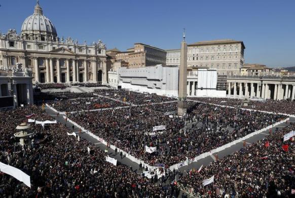 Tiêu điểm - Giáo hoàng Benedict chia tay trước 'biển người'