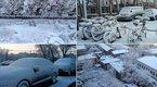 Tuyết trắng trời Bắc Kinh đầu mùa xuân