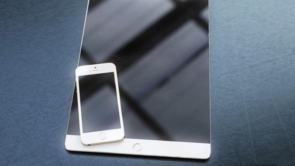 Ý tưởng iPad Pro với cảm biến vân tay Touch ID
