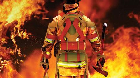bộ đồ, cứu hỏa, thiết kế, Ken Chen, Iron Man