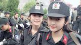 Những nữ sinh cảnh sát xinh như mộng