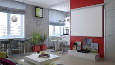 So sánh thiết kế cực chuẩn của 2 căn hộ 1 phòng ngủ có diện tích 47m²