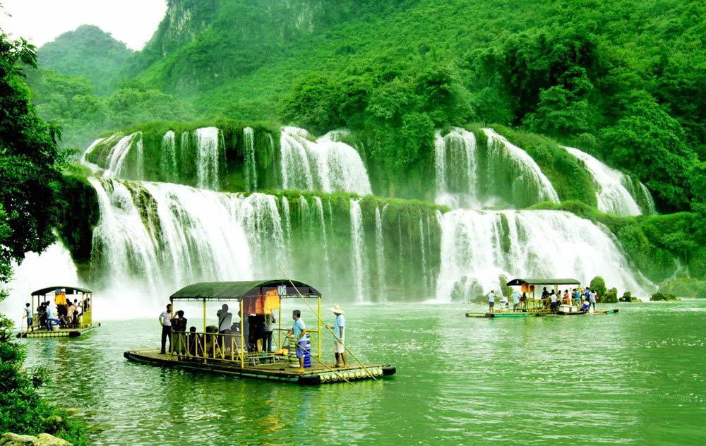thác Bản Giốc, biên giới, Việt - Trung