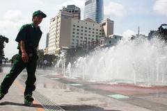 Trượt patin tuần tra trên phố đi bộ Sài Gòn