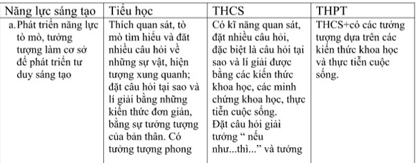 ĐH Giáo dục, ĐHQG Hà Nội, chương trình phổ thông, Trần Thị Bích Liễu