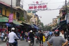 Đề xuất lát đá mặt đường 11 tuyến Phố cổ Hà Nội