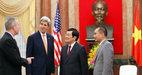 Hình ảnh đầu tiên của Ngoại trưởng Mỹ ở Hà Nội
