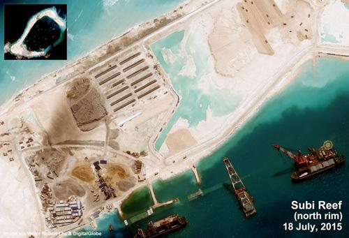 TQ chơi trò 'câu chữ' về dừng xây đảo ở Biển Đông