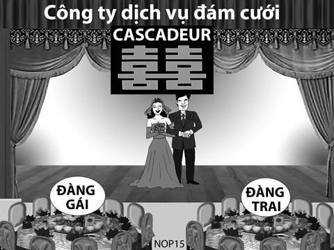Đám cưới đi thuê cô dâu chú rể, đóng thế tứ đại nhạc mẫu