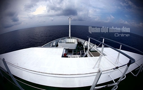 Khám phá tàu Cảnh sát biển hiện đại 8002