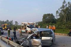 Thời sự trong ngày: Đâm xe trên cao tốc, 3 người chết thảm